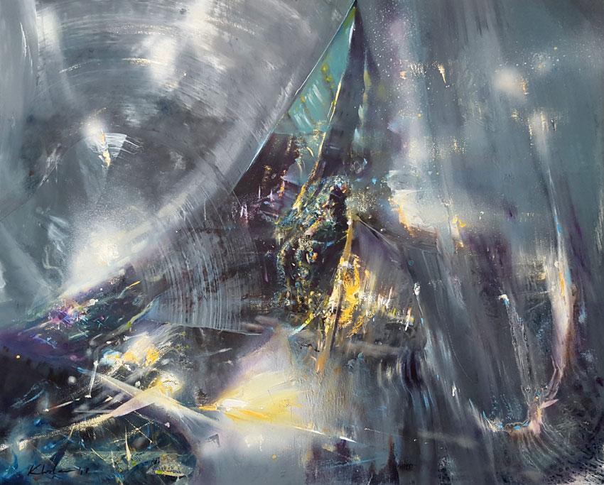 THE LAST DREAM OF A SILK WORM 2 by O KLOSKA / SOLD