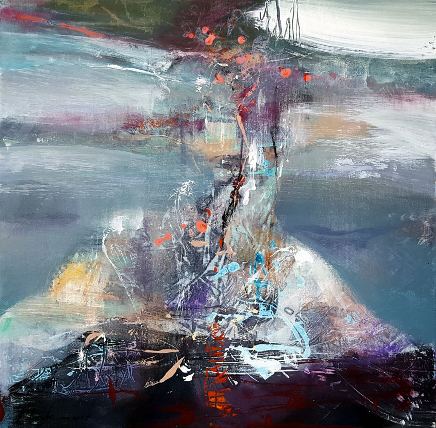 LONELINESS AT THE END OF THE TRIP ENIGMATIC MINDSCAPE BY ROMANIAN PAINTER OVIDIU KLOSKA