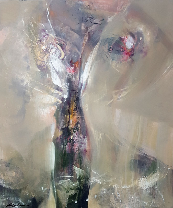 SOFT DIAPHANE GREYS ABSTRACT STILL LIFE BY MASTER O KLOSKA / available