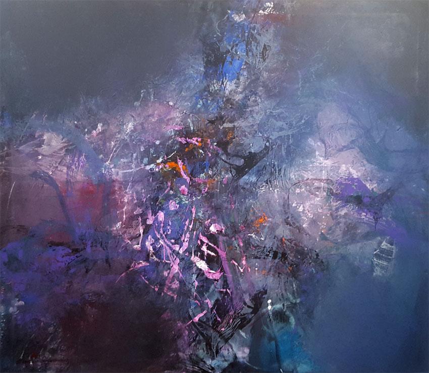 Lost in movement exuberant colors fantastic vibrations by O KLOSKA / 2000 Eur