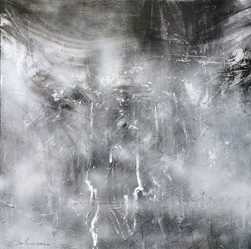 sublime lightscape enigmatic painting metaphysical art